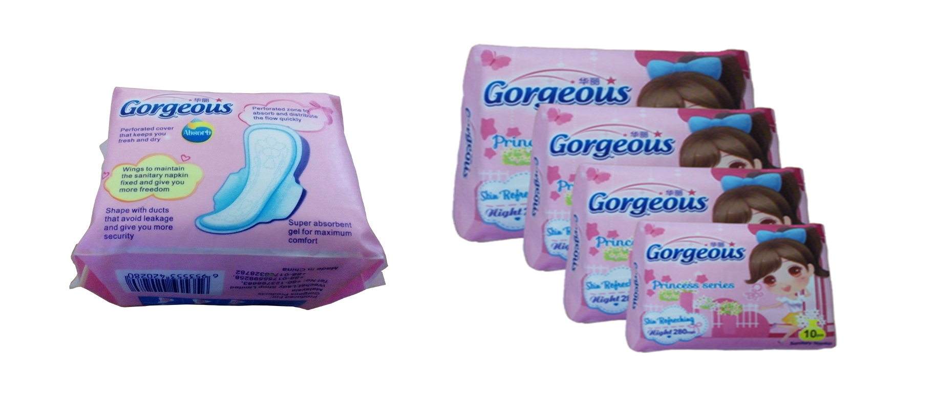 Gorgeous Sanitary Napkin